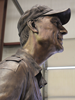 Bronze portrait sculpture of Volunteer President of the BSA Wayne Perry, also sculptures of J.W. and Hazel Ruby, Walter Scott, billionaire philanthropists, Greenbrier Resort owner Jim Justice, Jr. and father hunting scene bronze sculpture with grouse, hunting dog, Stephen Bechtel commissioned monumental portrait bronze sculpture, Bob Mazzuca, Past Chief Scout Executive and visionary for The Summit, Paul Christen, Boy Scouts of America, BSA Summit, Boy Scouts of America, Summit Bechtel National Family Scout Reserve, SBR, West Virginia, high adventure base camp scouting, memorial portrait sculptor Tom White, of Prescott, Arizona, 2013 Jamboree dedication of statues, commission a bronze sculpture monument, portrait sculptures of Jack Furst, Senator Joe Manchin