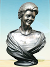 Pat's bust, Texas sculptor, portrait bust of a woman, portrait bronze bust sculptures, commission bust portrait statues, bronze memorial busts, commission a bust bronze, historical memorial statues, monumental bronze sculptor, figurative portrait commissions in bronze, custom commission bronze sculptures, figurative bronze sculptures, portrait bronze commissions, family bronze statues, fine art bronze sculpture commissions, memorial bronze statues, public memorials, historical bronze sculptures, Children's park statues, military war memorials, commission a bust of a soldier, bronze sculptures of children, family memorial commission bronze statues, commission a portrait sculpture bust, life-size or monumental bronze