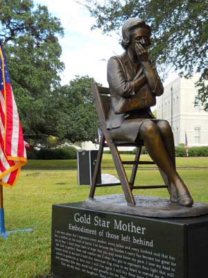 Gold Star Mom Monument, Brazoria County Ring of Honor, veterans memorial, Medal of Honor sculptures, Tom White, Monumental Bronze Sculptor, custom commissions, public art monuments and historical memorials, military sculptures, soldiers statues, bronze war memorials, bronze portraits, family memorial bronze sculptures, Christian sculptures, Jesus statues commission a sculptor, monumental sculptures bronze, public monumental bronze statues, figurative sculptures, life-size bronze commissions